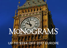 Monograms: Up to $594 Off 2017 Europe