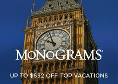 Monograms: Up to $692 Off Top Vacations