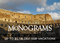 Monograms: Up to $1,718 Off Top Vacations
