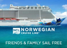 Norwegian: Friends & Family Sail Free