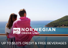 Norwegian: Up to $1,075 Credit & Free Beverages