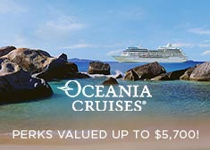 Oceania: Perks Valued up to $5,700!