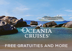 Oceania: Free Gratuities AND More