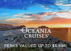 Oceania: Perks Valued up to $5,696!