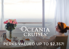 Oceania: Perks Valued up to $2,357!