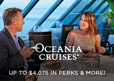 Oceania: Up to $4,075 in Perks & More!