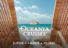 Oceania: 2-For-1 Fares + More