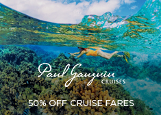 Paul Gauguin: 50% Off Cruise Fares