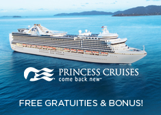 Princess: Free Gratuities & Bonus!