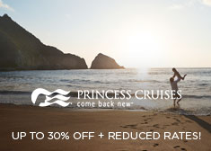 Princess: Up to 30% Off + Reduced Rates!
