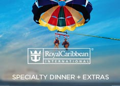 Royal Caribbean: Specialty Dinner + Extras