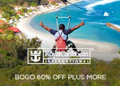 Royal Caribbean: BOGO 60% Off PLUS More