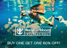 Royal Caribbean: Buy One Get One 60% Off!
