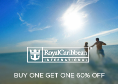 Royal Caribbean: BOGO 60% Off + Free Gratuities