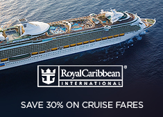 Royal Caribbean: Save 30% on Cruise Fares