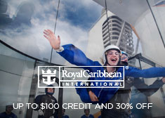 Royal Caribbean: Up to $100 Credit AND 30% Off