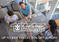 Royal Caribbean: Up to $100 Credit, 30% Off, & More