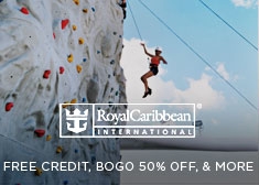 Royal Caribbean: Free Credit, BOGO 50% Off, & More
