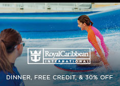 Royal Caribbean: Dinner, Free Credit, & 30% Off