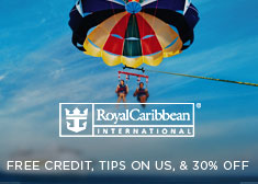 Royal Caribbean: Free Credit, Tips on Us, & 30% Off
