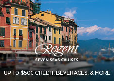 Regent: Up to $500 Credit, Beverages, & More