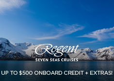 Regent: Up to $500 Onboard Credit + Extras!