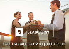 Seabourn: Free Upgrades & Up to $1,000 Credit
