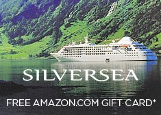 Silversea: Free Amazon.com Gift Card*
