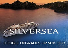 Silversea: Double Upgrades OR 50% Off!