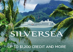 Silversea: Up to $1,200 Credit AND More