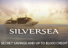 Silversea: Secret Savings AND Up to $1,000 Credit