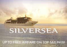 Silversea: Up to Free Airfare!