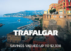 Trafalgar: Savings Valued up to $2,308