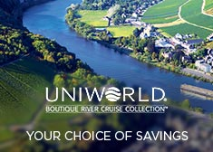 Uniworld: Your Choice of Savings