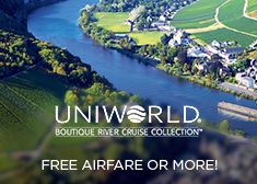 Uniworld: Free Airfare OR up to $3,000 Off!