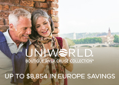 Uniworld: Up to $8,854 in Europe Savings