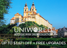 Uniworld: Up to $3,671 Off + Free Upgrades