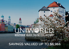 Uniworld: Savings Valued up to $6,966