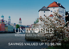 Uniworld: Savings Valued up to $6,766