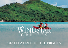 Windstar: Up to 2 Free Hotel Nights
