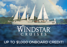 Windstar: Up to $1,000 Onboard Credit!