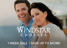 Windstar: 1 Week Sale – Save up to $4,198!