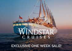 Windstar: One Week Sale − Cruises From $779!