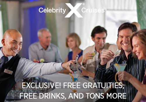Celebrity: Hot Deal! Free Gratuities, Up to $700 Credit + Tons More