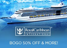 Royal Caribbean: BOGO 50% Off & More!