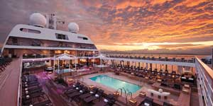 Panama Canal Cruise Deal - Seabourn: Free Upgrades PLUS up to $1,000 Free Onboard Credit!