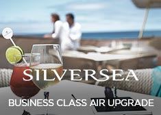 Silversea: Business Class Air Upgrade