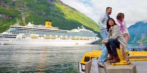 Costa Cruises Deal - Free or Reduced Fares for Kids!